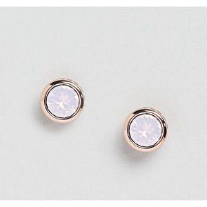NWOT Ted Baker Rose Gold Crystal Stud Earrings